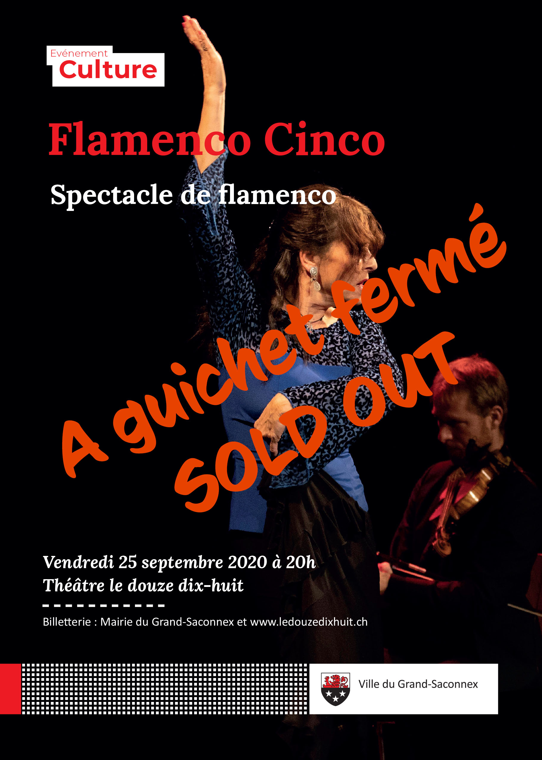 Spectacle Flamenco Cinco