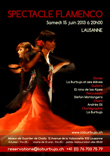 Spectacle Flamenco 2013